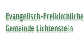 Evangelisch-Freikirchliche Gemeinde Lichtenstein - Datenschutz